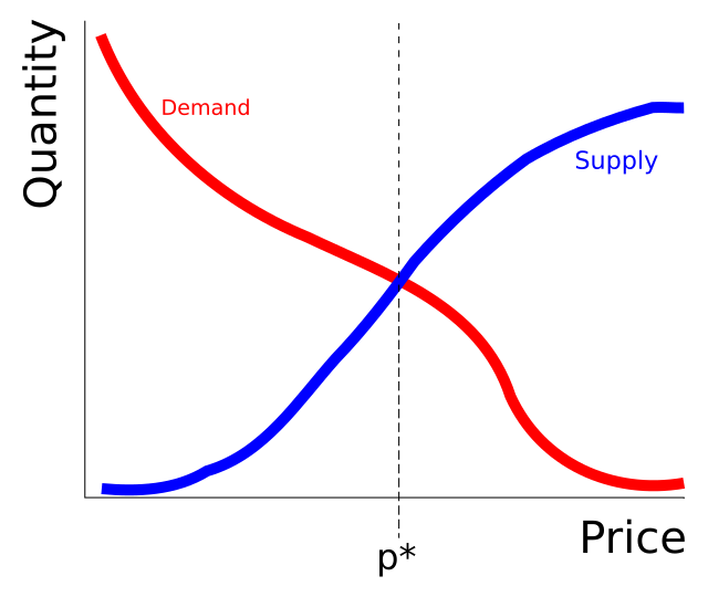 The Shape Of Supply And Demand Curves In Rapidly Clearing Markets